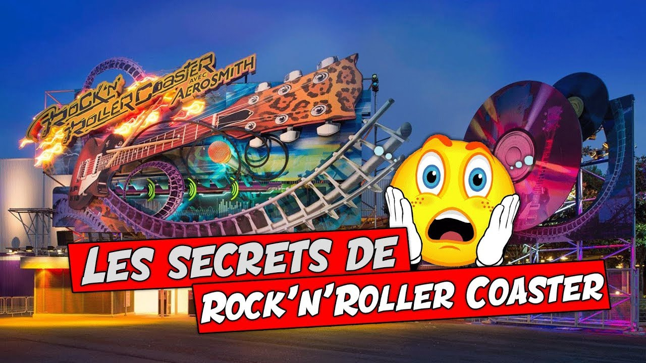 LES SECRETS DE ROCK'N'ROLLER COASTER avec AEROSMITH - YouTube