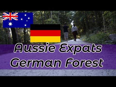 Germany Vlog // Aussie Expats Hiking in the German Forest and Picking Medicinal Herbs