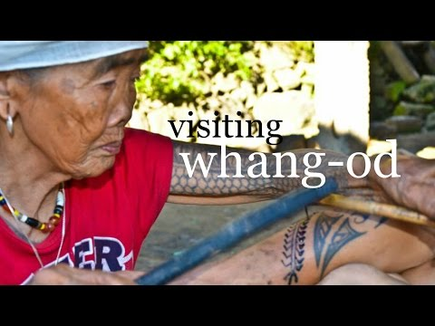 TATTOOING WHANG-OD | Journey To Kalinga