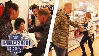 Schwangerschafts-Fight im Einkaufscenter  Die Straßencops