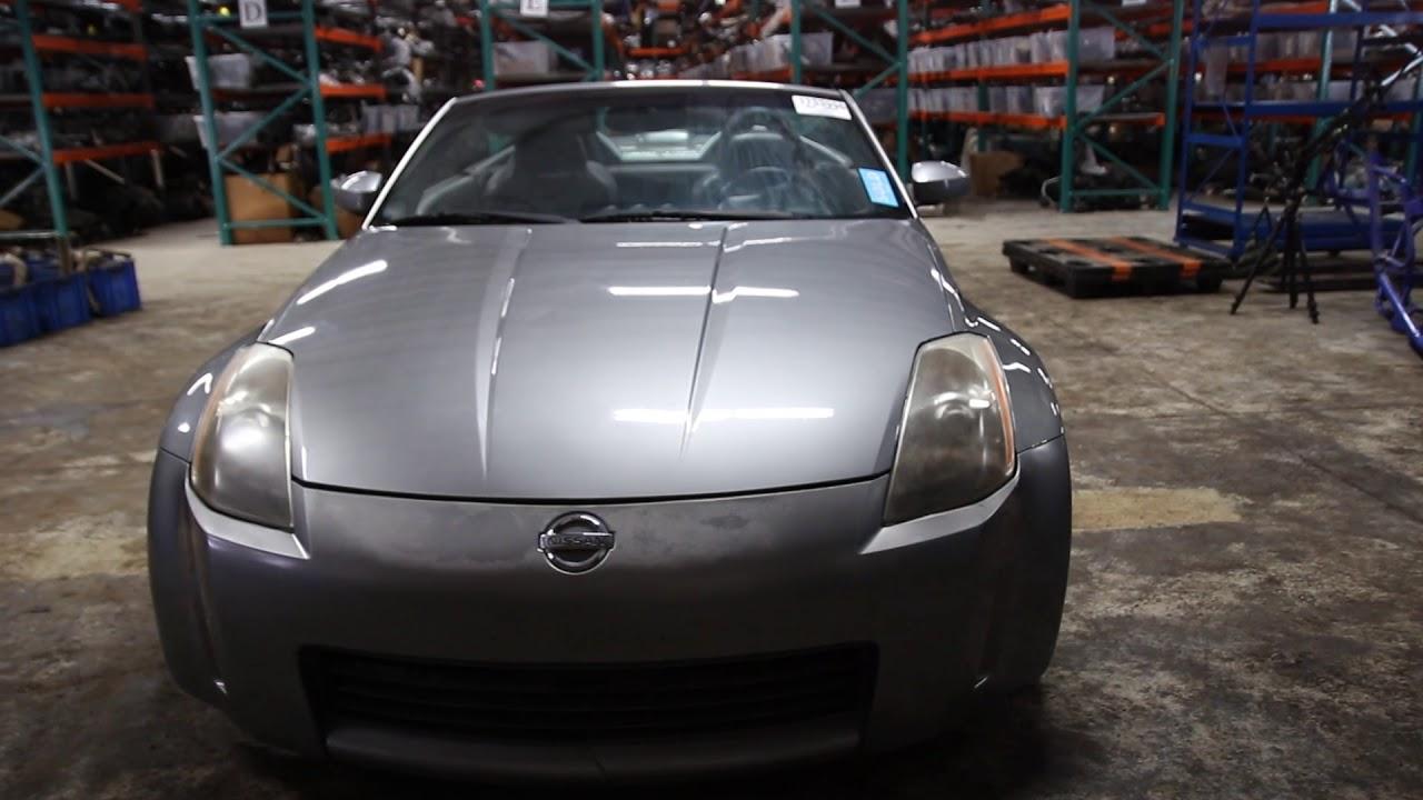 nissan 350z 2004 parts