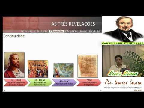 Palestra Espirita - AS TRÊS REVELAÇÕES - Luiz Lima