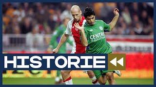 Historie: Suárez scoort voor FC Groningen bij debuut in Arena