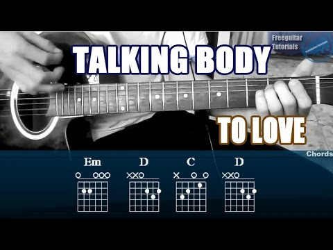 How To Play Talking Body By Tove Lo On Guitar Easy And Fast