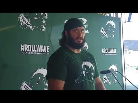 Sean Wilson says Tulane defense ready to face Tulsa's rushing attaxk