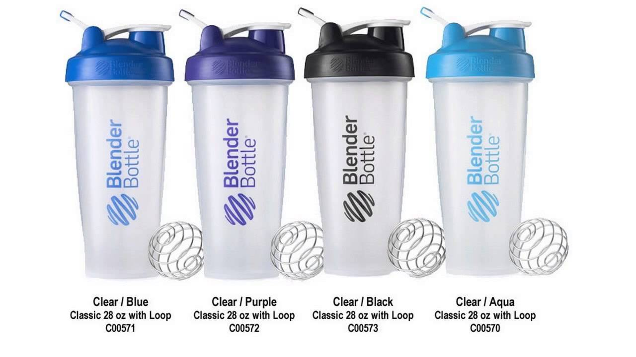 How many ounces in a blender bottle