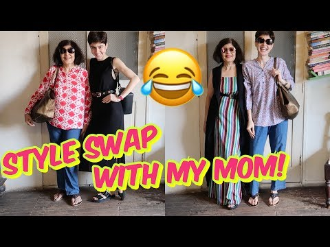 Style Swap With My MOM!!!