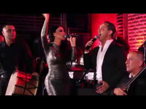 Layal Abboud - Lmjaneen | ليال عبود وعلي الديك لمجانين - حفلة دمشق