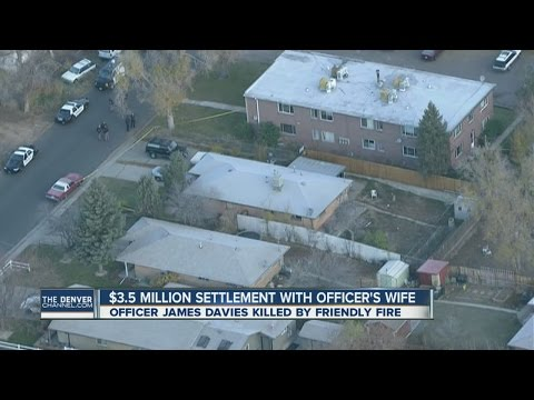 $3.5 million settlement with officer's wife