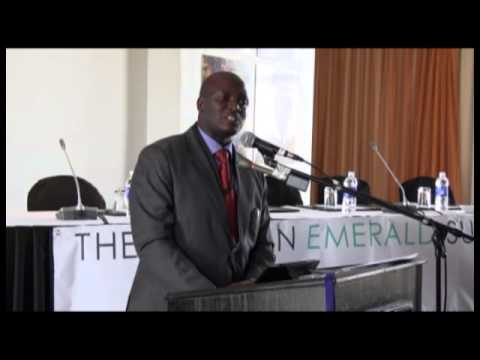 Zambia's Hopes for the Emerald Sector by Hon. Richard Musukwa, Deputy Minister of Mines
