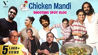 Arabian Chicken Mandi | Cook with VV | Shooting Spot Galatta Vlog | Vanitha Vijaykumar