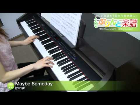 Maybe Someday jyongri