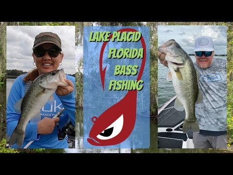 Lake Placid Florida Bass Fishing Trip With My Wife!