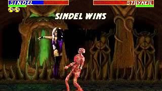 Mortal Kombat 3 - Sindel (Sega Genesis) (By Sting)