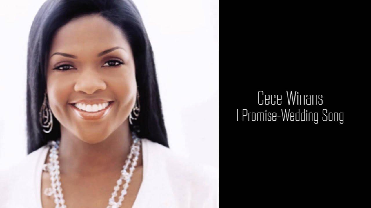 Cece Winans I Promise Wedding Song