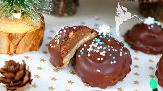 Nussnougat Küsse - Weihnachtsgebäck mit Nougat & Haselnüssen - Plätzchen backen - Kuchenfee