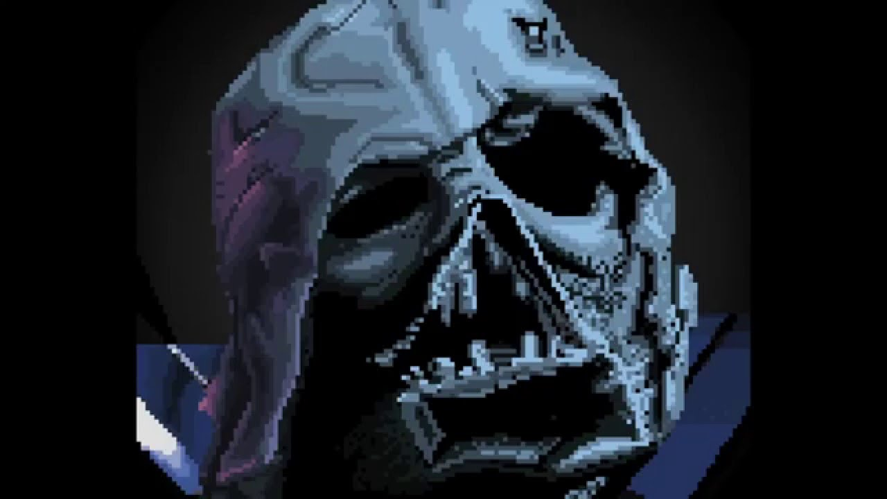 Darth Vader Pixel Art Time Lapse Youtube
