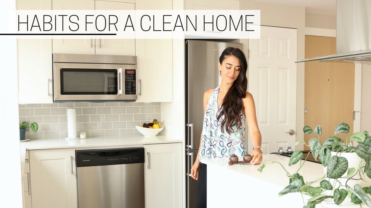 Clean Home habits for a clean home » & getting rid of things - youtube