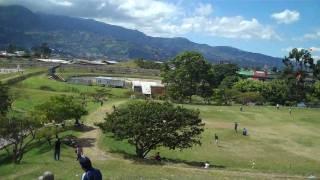 Parque de la Paz en San Jose, Costa Rica