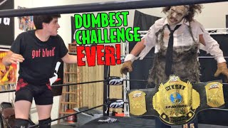 SCARIEST CHAMPIONSHIP MATCH IN THE HISTORY OF GTS WRESTLING!