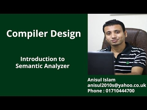 Compiler Design / Lexical Syntax Semantic Analyzerиз YouTube · Длительность: 4 мин3 с