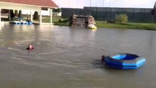 Рамзан Кадыров купается