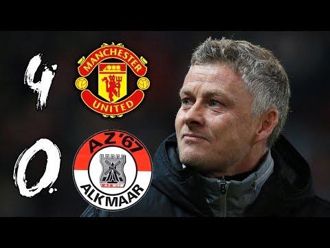 HUGE AND DESERVED WIN! | MAN UTD 4-0 AZ ALKMAAR