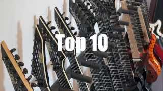 The Best 7 & 8 String Guitars for Metal - Top 10