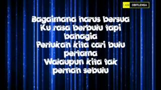 Cinta Muka Bulu with lyrics