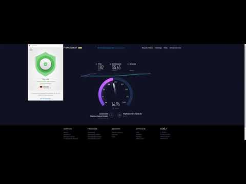 ExpressVPN Speed Test - Berlin VPN Server 2017/09/24
