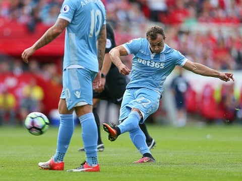 Xherdan Shaqiri On Middlesbrough Goal