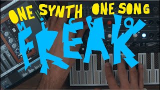 One Synth One Song - Arturia MicroFreak