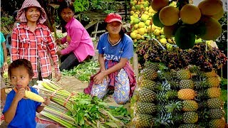 Fruits and Plants You Might Never See in Cambodia | Strange Fruits and Plants in Battambang Province