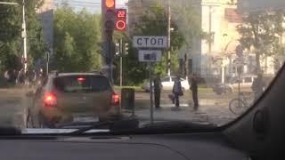 Кортеж Путина. Ижевск 2017