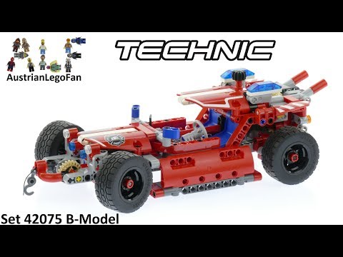 Lego Technic 42075 Fire Racer - Lego Speed Build Review