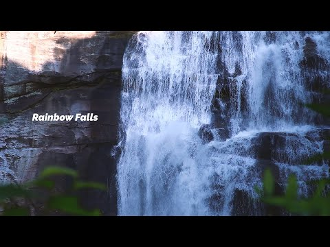 Rock Sliding At Turtleback Falls & Rainbow Falls // Asheville Waterfalls
