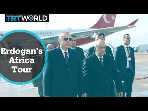 Turkish President Erdogan wrapped up his tour to Africa