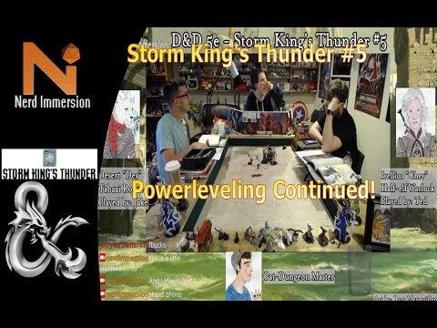 D&D 5e - Storm King's Thunder #5!   Nerd Immersion