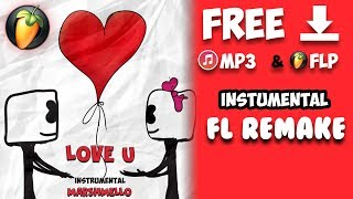 Marshmello - LoVe U (Instumental) Mp3 & Flp Download - Shivam Remake