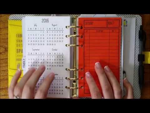 Budget Binder | Financial Planning in a Paper Planner