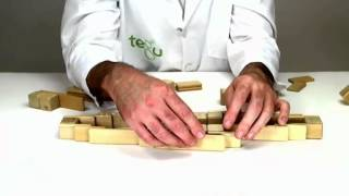 Building A Gondola Out Of Wooden Building Blocks From Tegu