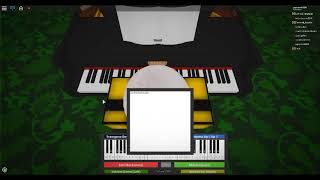 ROBLOX Piano - Love is a Beautiful Pain (Little part)