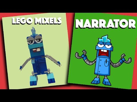 LEGO Mixels - The Narrator - Stop Motion Build | Bricks and Clay Play