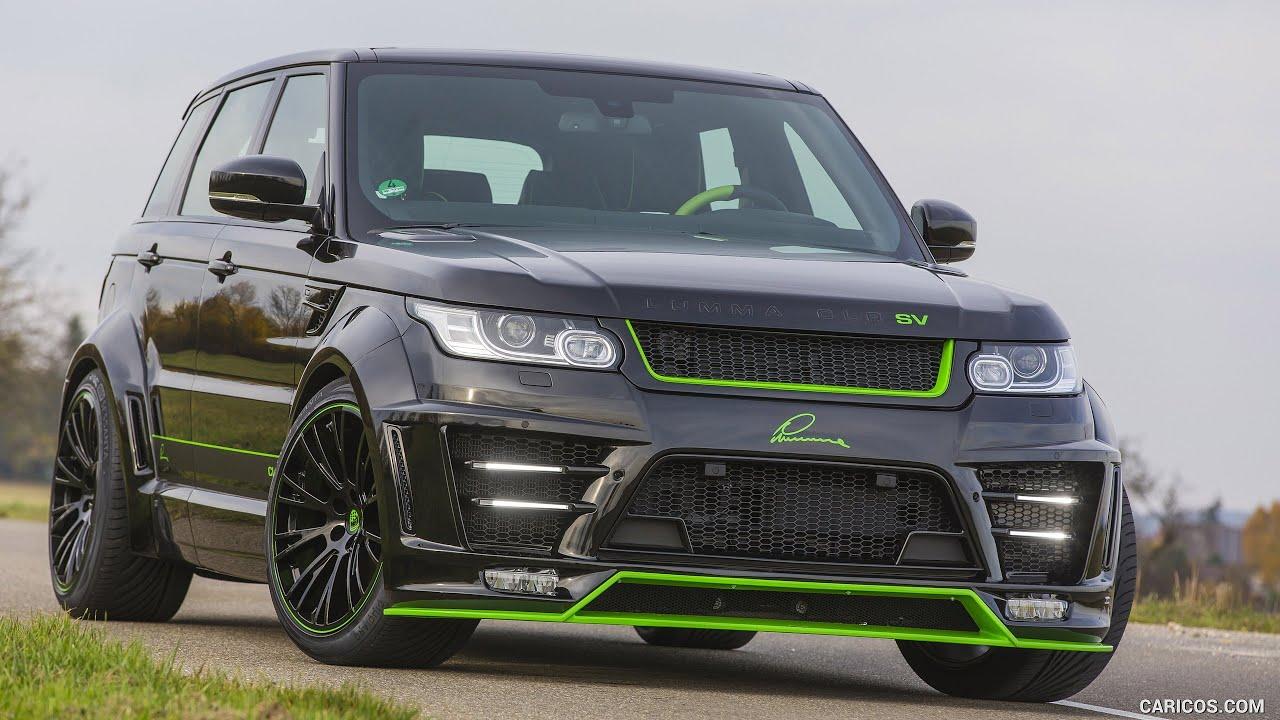 Range Rover Sport 2016 Lumma Clr Sv Youtube