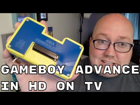 Play GameBoy Advance On TV - GBA Consolizer