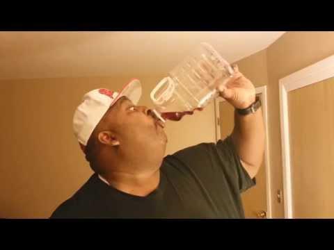 3 Liter Cranberry Juice Chug (Extreme Sourface Alert!!)