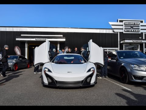 Mclaren 675lt At Deluxe Car Storage For Cars And Coffee