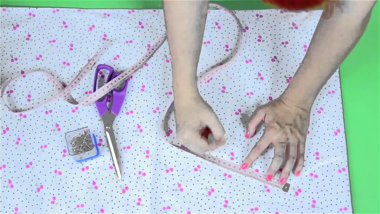 c5f60b16 DIY: Jak uszyć sukienkę? Piękna sukienka w czereśnie [COza Szycie]