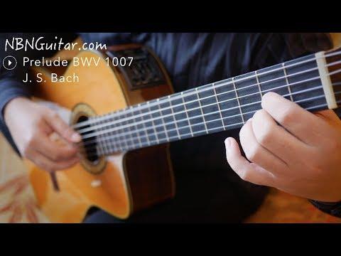 Prelude in D, BWV 1007 | Johann Sebastian Bach | NBN Guitar