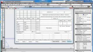 Динамический блок формата и таблица общих данных